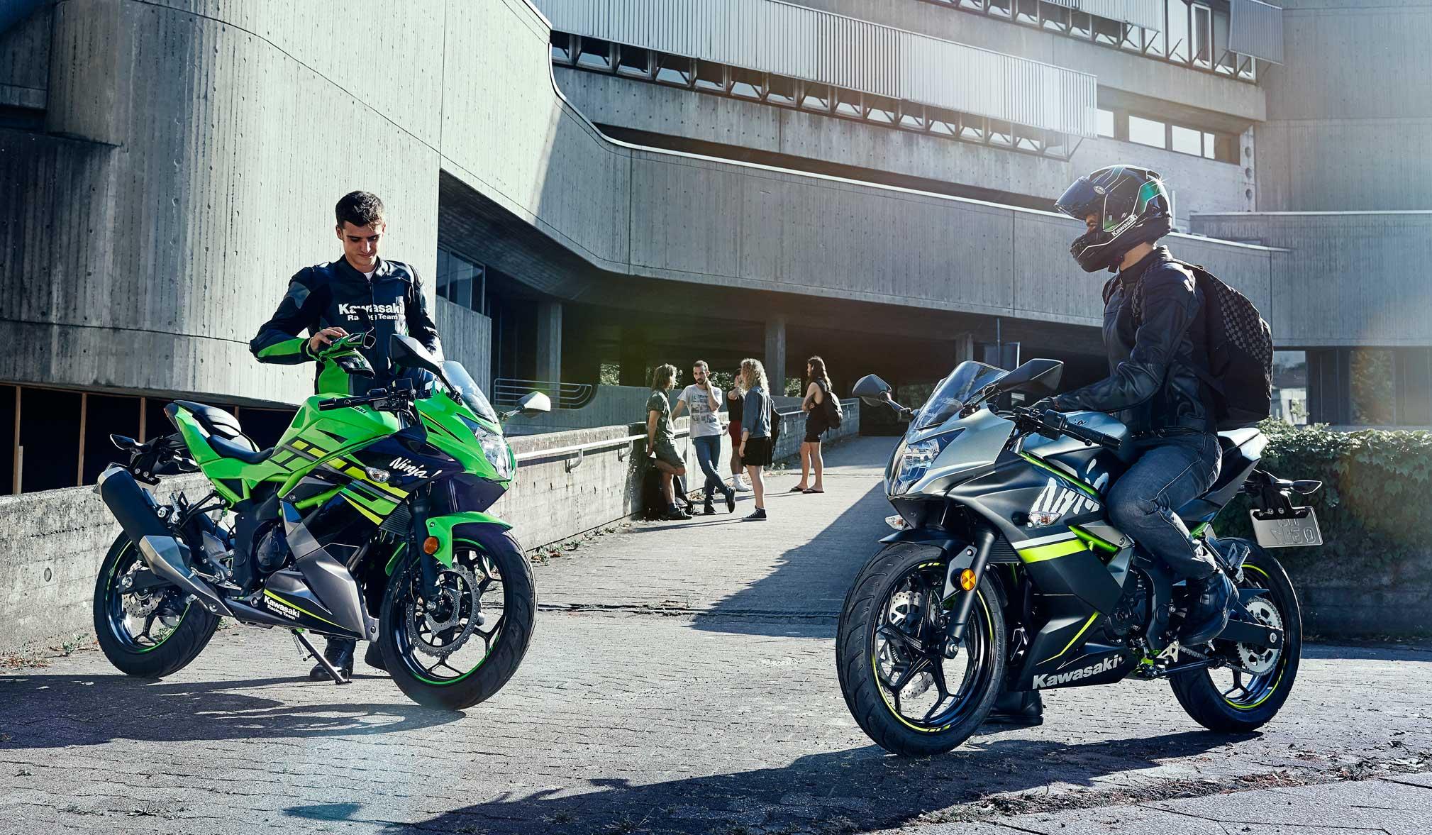 Kawasaki onthult de Ninja 125 of Z125: Een lastige keuze